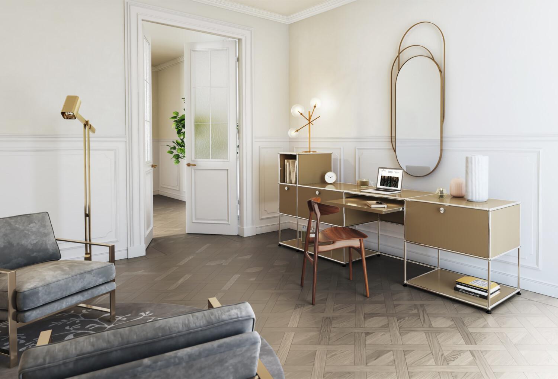 Brave the Beige in 2021 with USM Haller Modular Furniture