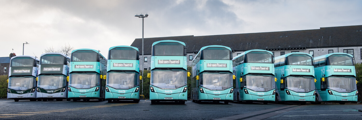 HDR | Hurley Palmer Flatt helped First Bus get Aberdeen 'hydrogen ready' with the introduction of the world's first hydrogen-powered double-decker buses