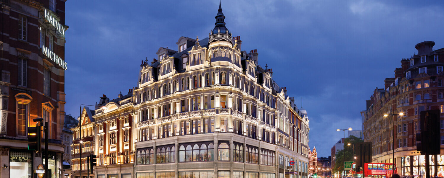 HDR | Andrew Reid is part of the project team delivering Skanska's mixed-used scheme in the heart of historic Knightsbridge